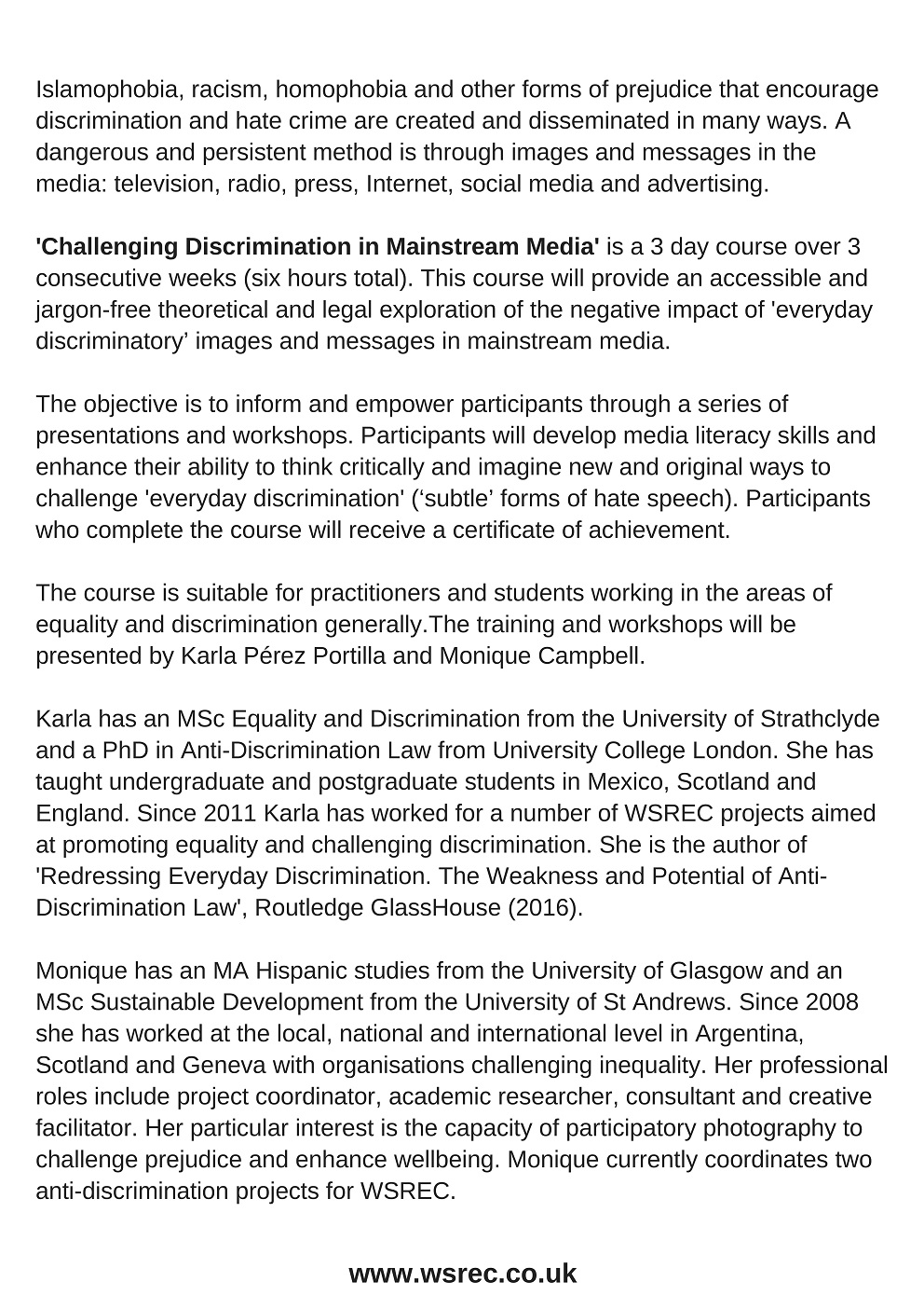 an experience of prejudice and discrimination as an international student