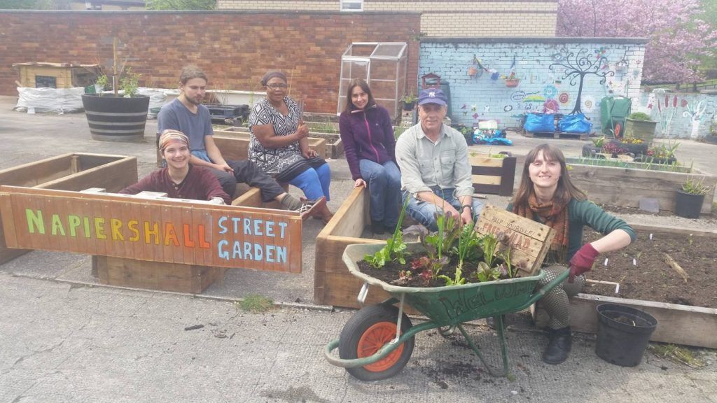 Crowd Funding For Napiershall Street Community Garden Wsrec