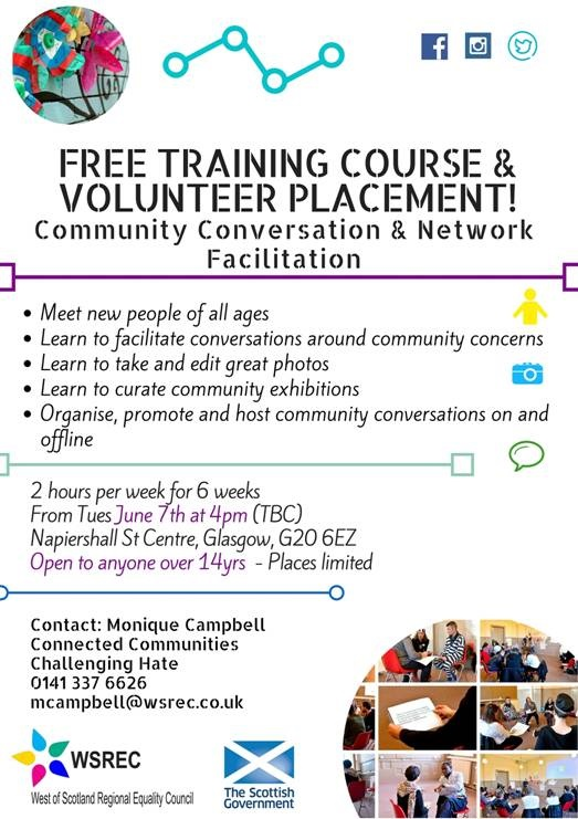 FREE Training Course and Volunteer Placement - WSREC
